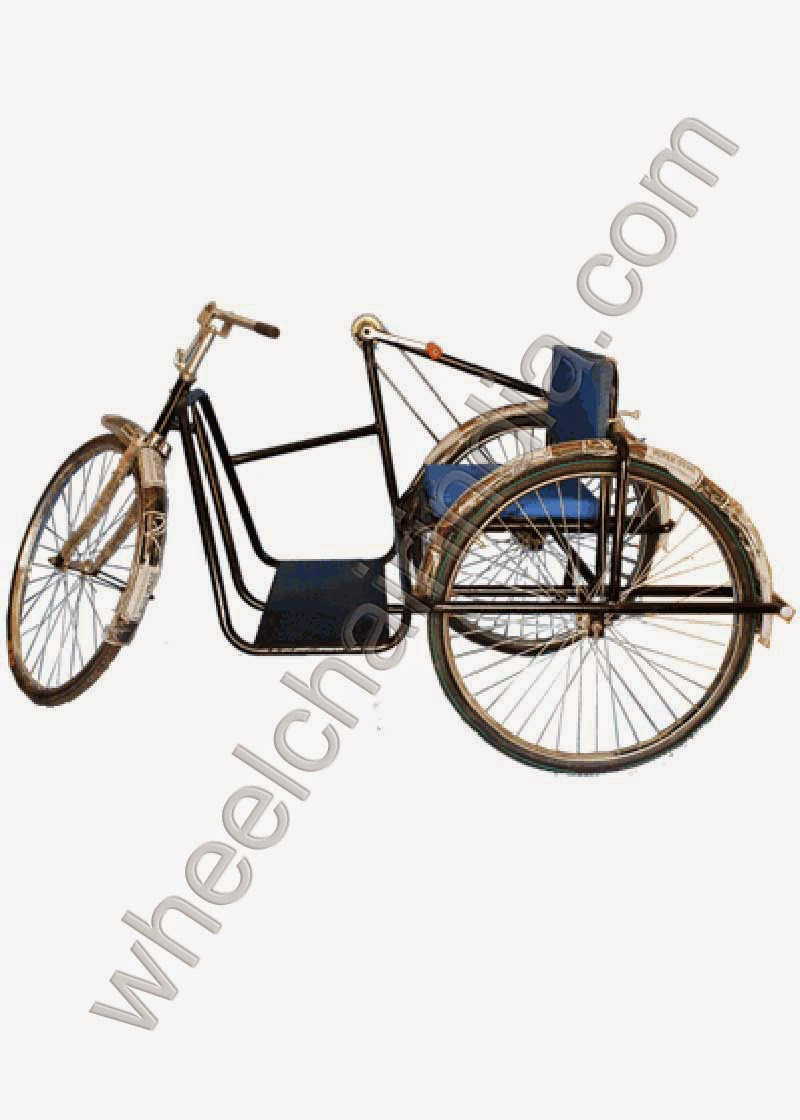 Tricycle Deluxe Single Hand Drive: