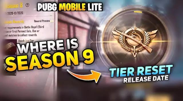 PUBG Lite Season 9 not released yet, confirmed release date