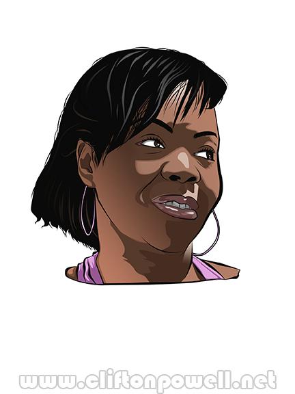 Tarshay Digital Portrait