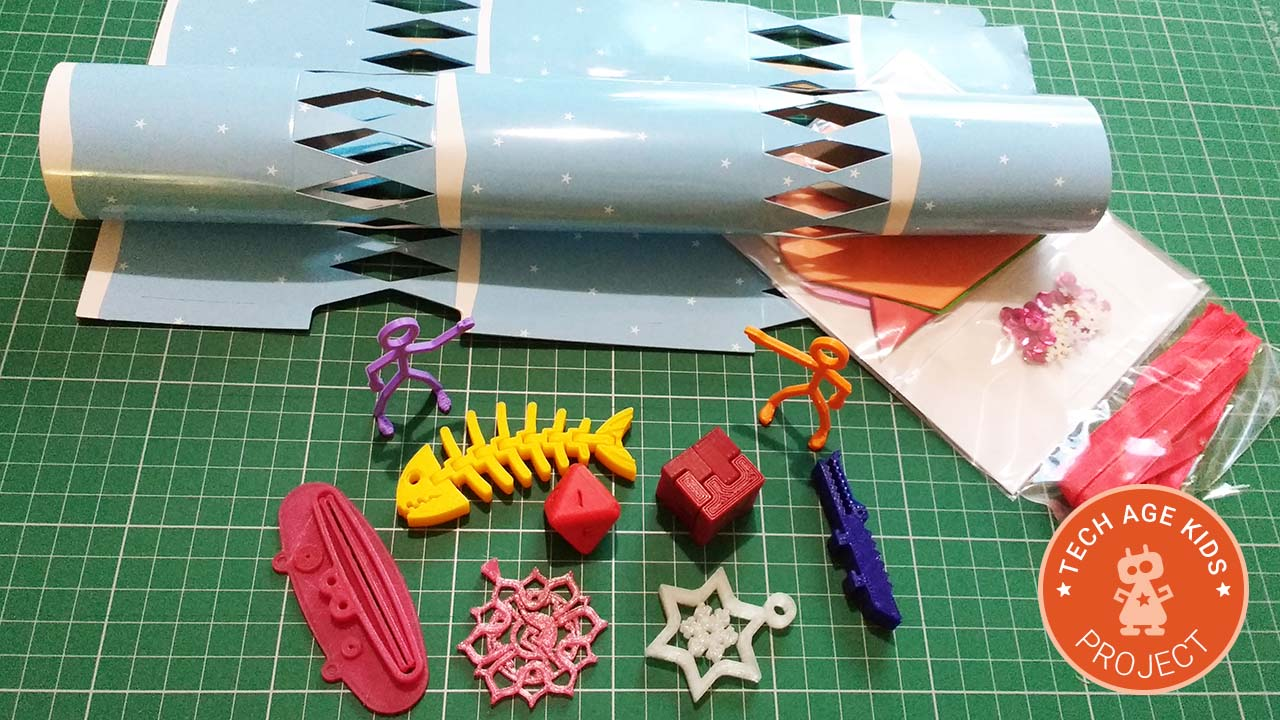Christmas Cracker Gifts To 3d Print Tech Age Kids Technology For Children
