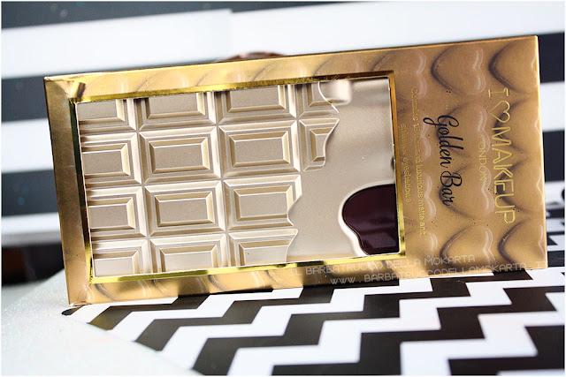 golden Bar makeup revolution palette choccolate