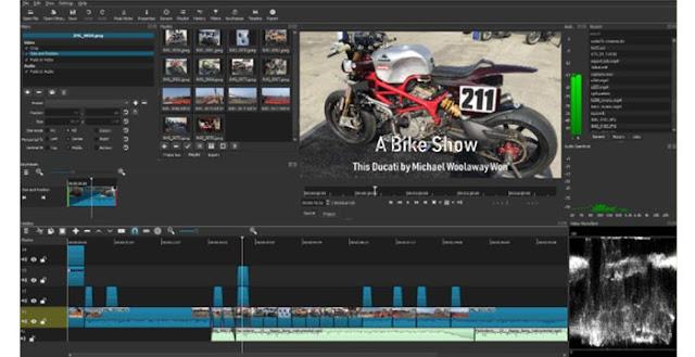 ShotCut - Aplikasi Edit Video Gratis