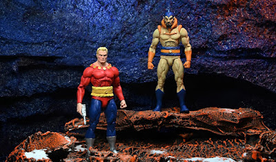 """San Diego Comic-Con 2021 Exclusive Flash Gordon Classic Toy Appearance Edition 7"""" Action Figures by NECA x King Features"""