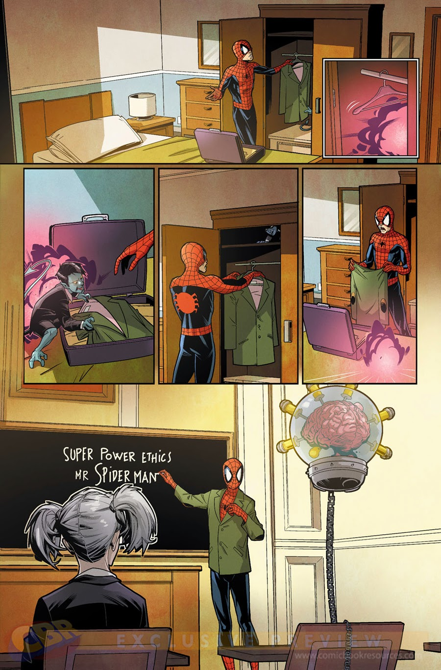 Spiderman and the X-men 1 marvel jean grey school mutants ecole pour jeunes surdoués