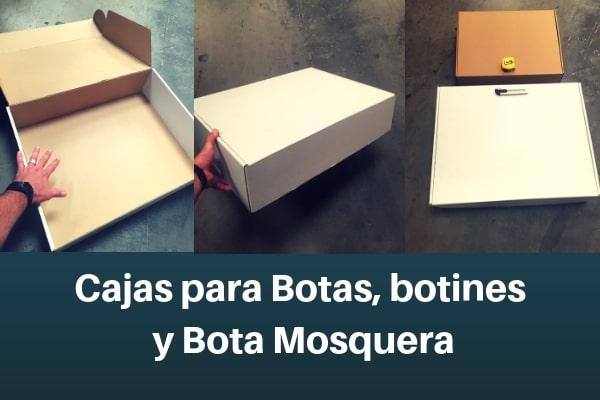 cajas para botas, botines y bota mosquera