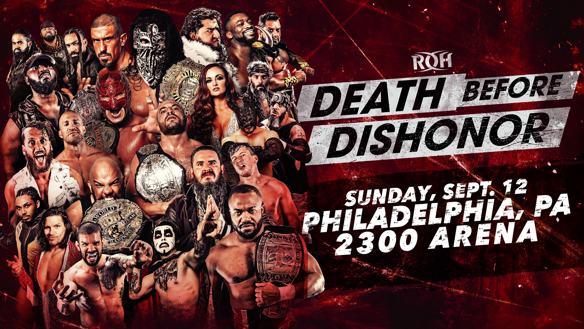 ROH Death Before Dishonor 2021: Card final do evento!