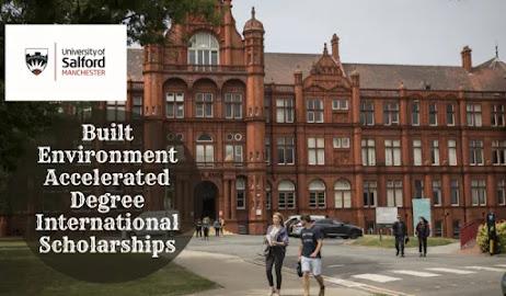 Bourse de Récompenses internationales de diplôme accéléré en environnement à l'Université de Salford au Royaume-Uni, 2020