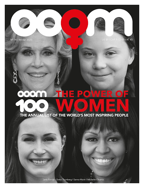 """OOOM 100: The World's Most Inspiring People"" 2019 Issue - Eight Women In The Top 10"