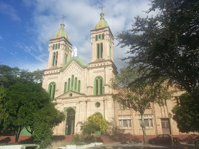 One of the many Catholic Churches in Garzón, Huila, Colombia.