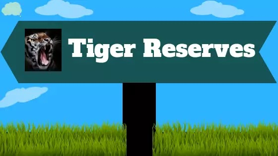 New Updated List of  Tiger Reserves in India  2020