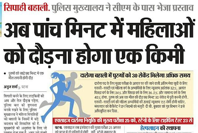 Bihar police 2019