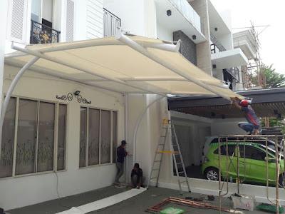 jasa pembuatan tenda membrane di jakarta utara, harga murah kualitas terjamin dan juga bergaransi hubungi 081385550993