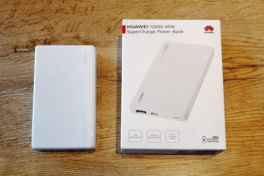Huawei 12000 mAh 40W SuperCharge Powerbank Review