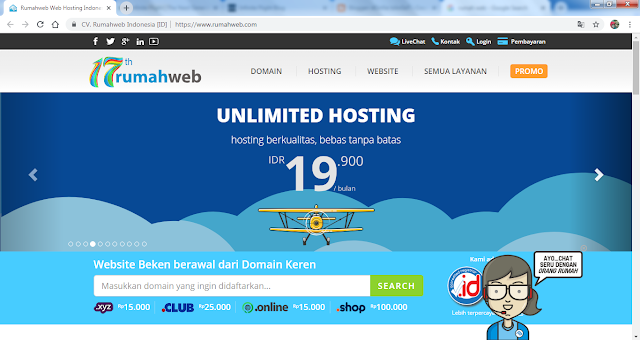 website rumah web