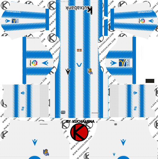 Real Sociedad 2019/2020 Kit - Dream League Soccer Kits