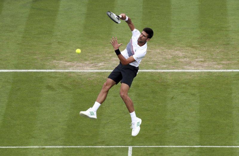 Novak Djokovic  Reaches Eastbourne Final, Defeating Daniil Medvedev 6-4, 6-4 in straight Sets