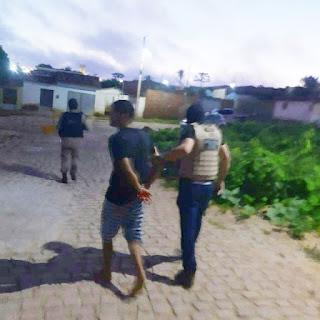 Operação ceifador prende homicida que atuava em Cuité