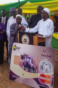 Farmers Get Debit Cards For Farming Inputs In Osun As Governor Says State Economy Thrives On Agric Production.