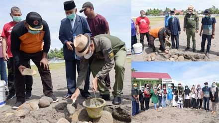 Pembangunan Gedung PAUD Desa Naras I Pariaman Dimulai