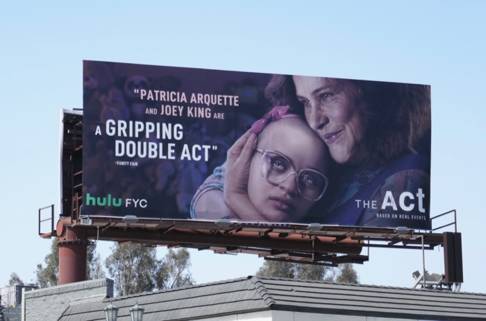 The Act 2019 Emmy FYC billboard
