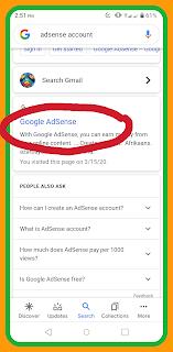 How to click Google adsense