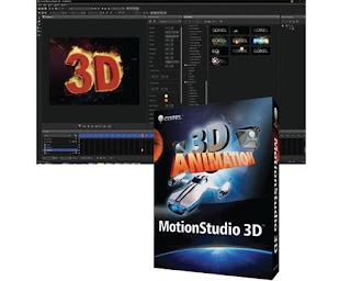 Corel MotionStudio 3D Editing PC Software Free Download from SoniFile