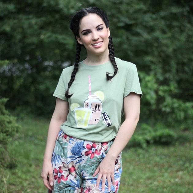 SHEIN Summer Graphic T Shirt