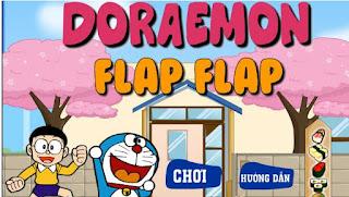 Game bay cùng doremon hấp dẫn