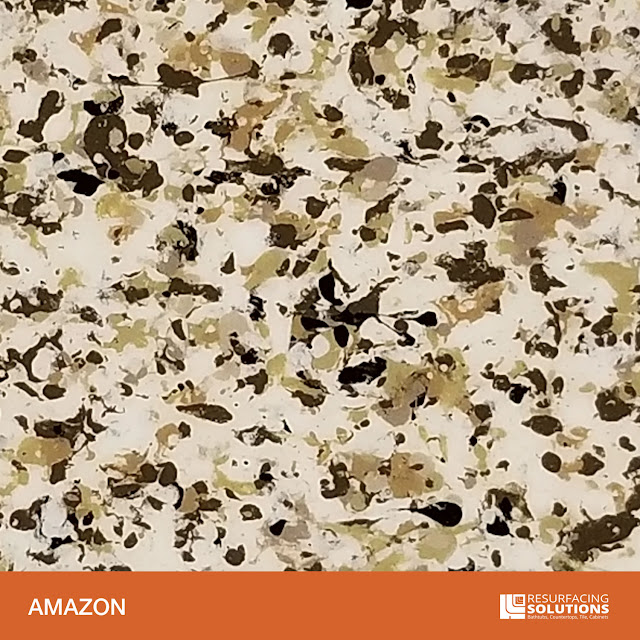 Resurfacing Solutions Knoxville Faux Granite Countertop Color Sample 1