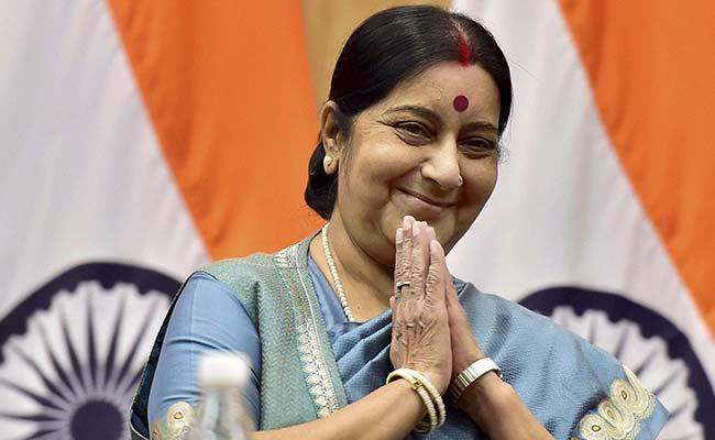 sushma swaraj saved