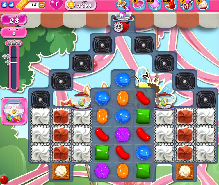Candy Crush Saga level 2395