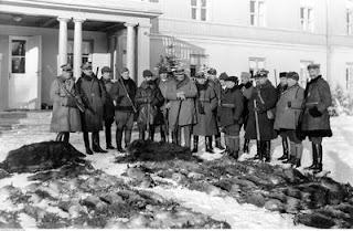 Pobyt prezydenta RP Ignacego Mościckiego w Spale 1929