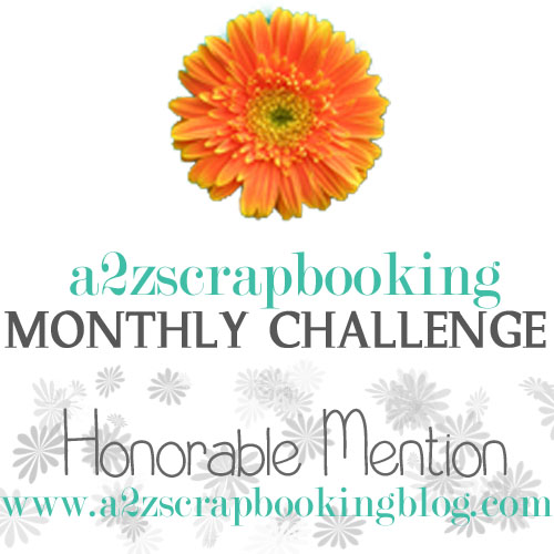 a2z Scrapbooking Honorable Mention