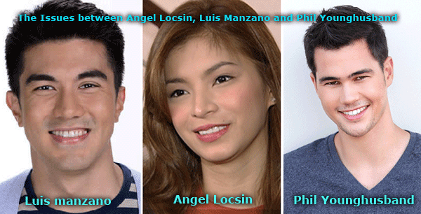 Angel Locsin Confessed that She Has Been Cheated Before - the issue between Luis Manzano, Angel Locsin, and Phil Younghusband