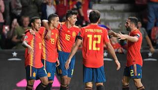 موعد مباراة اسبانيا وبولندا في يورو 2020.