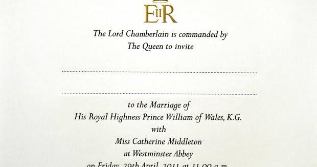 Wedding Invitations William Arthur: William Arthur Blog: Royal Wedding Invitations