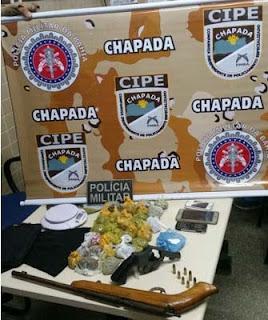 Operação policial prende quadrilha de tráfico de drogas na cidade de Lencóis