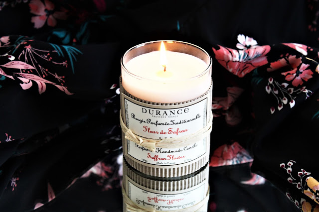 bougie parfumée fleur de safran durance avis, fleur de safran durance, bougie fleur de safran durance, fleur de safran de durance, durance fleur de safran, bougies parfumées naturelles, bougie durance avis, bougies, bougie parfumée à la cire végétale, home fragrance, blog sur les bougies, bougie naturelle made in france, durance parfum d'ambiance, parfum naturel pour la maison