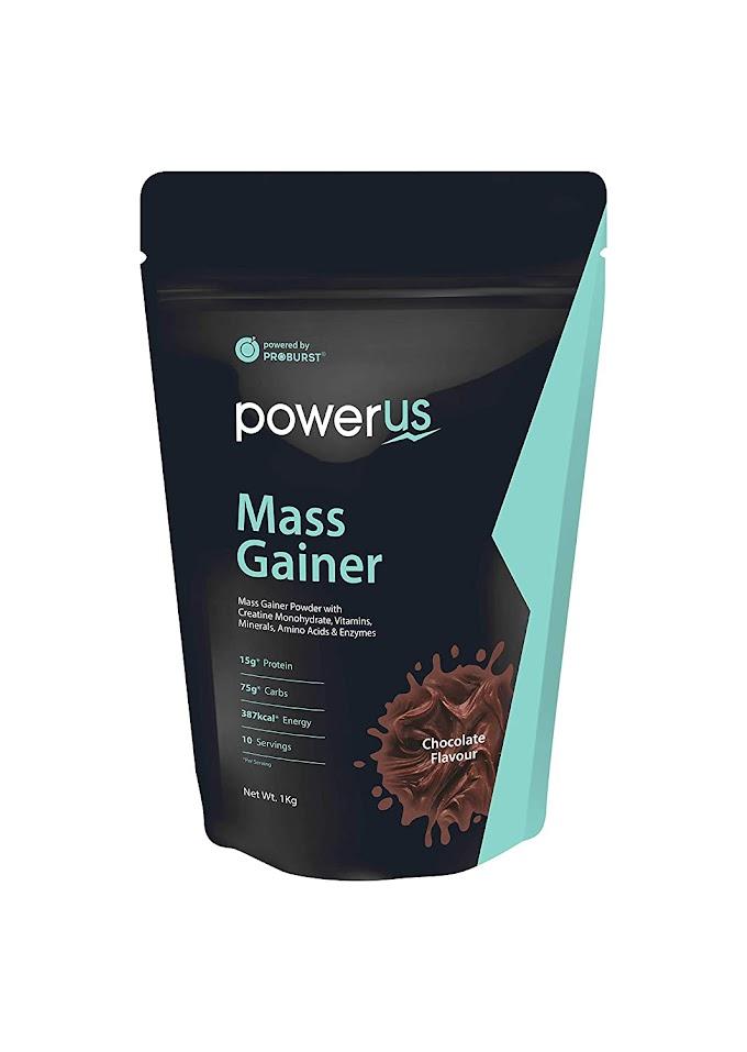 Powerus Mass Gainer protein Powder ||powerus mass gainer powder || Gainer price in India,