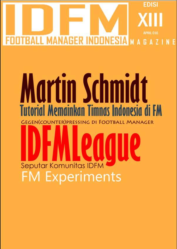 Magazine Indonesia Football Manager Edisi 13