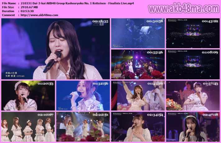 210331 Dai-3-kai AKB48 Group Kashouryoku