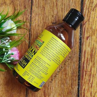 BellaVita Organics Vitamin C Face Wash Review