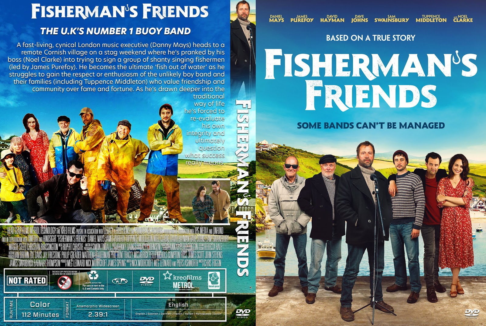 Fisherman S Friends Dvd Cover Cover Addict Free Dvd Bluray Covers And Movie Posters