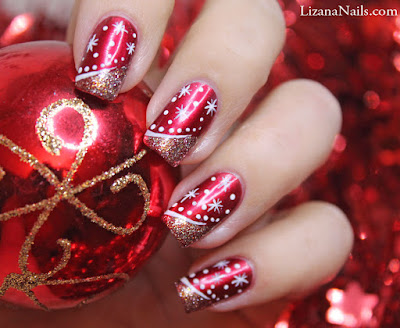 merry christmas have beautiful nails with nail art christmas