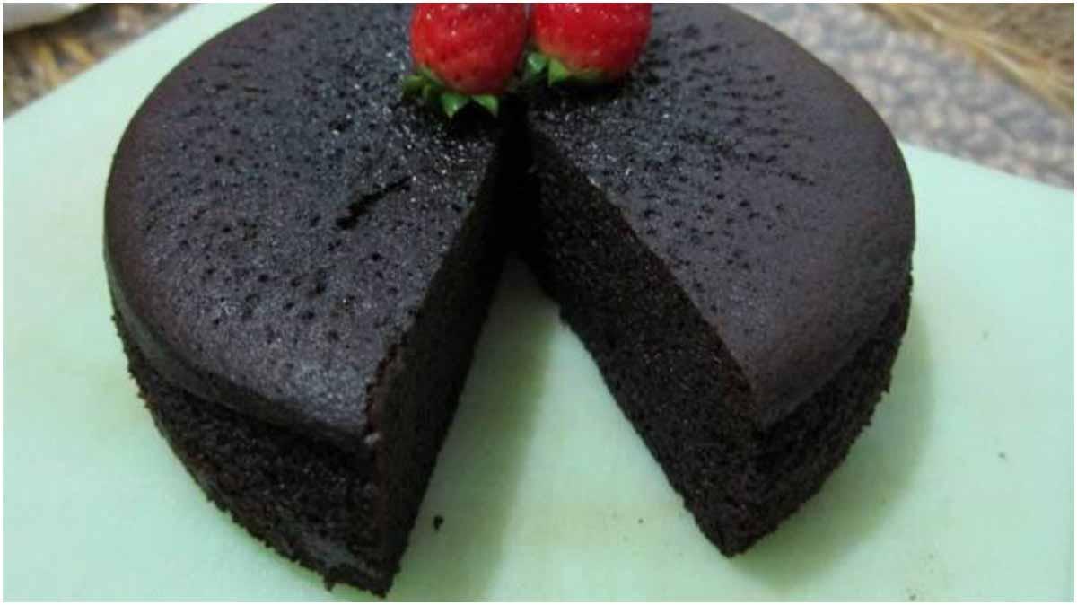 Cara Membuat Cake Cokelat Kukus Lumer