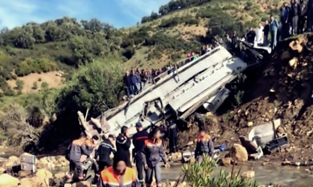 شهادة من كارثة انقلاب حافلة عمدون أكّد أنّ السائق كان حذرا ولم يسرع