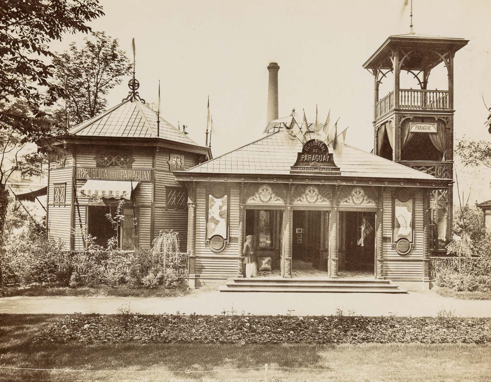 The pavilion of Paraguay.