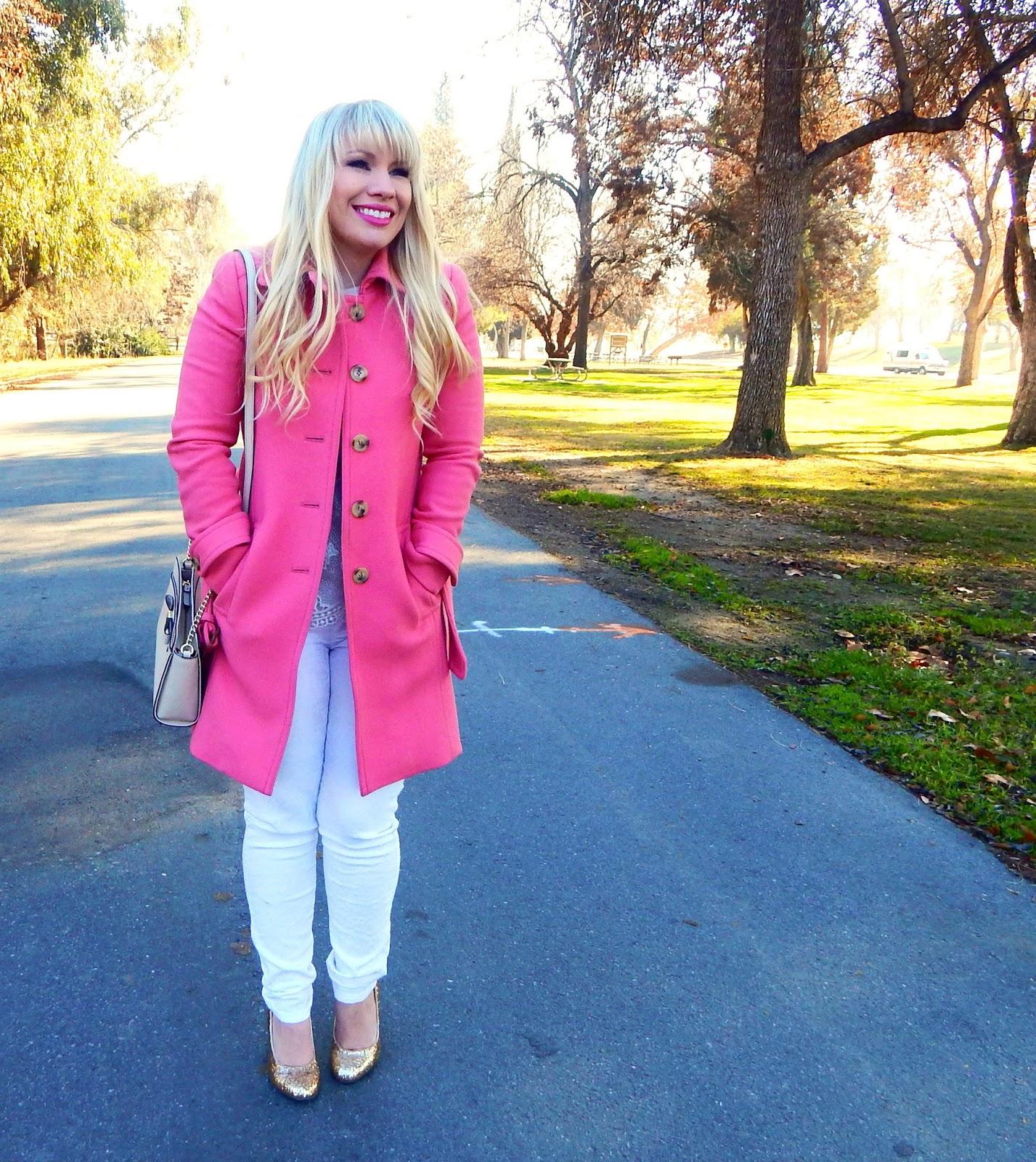 Pepto Pink & Friday Favorites Link Up