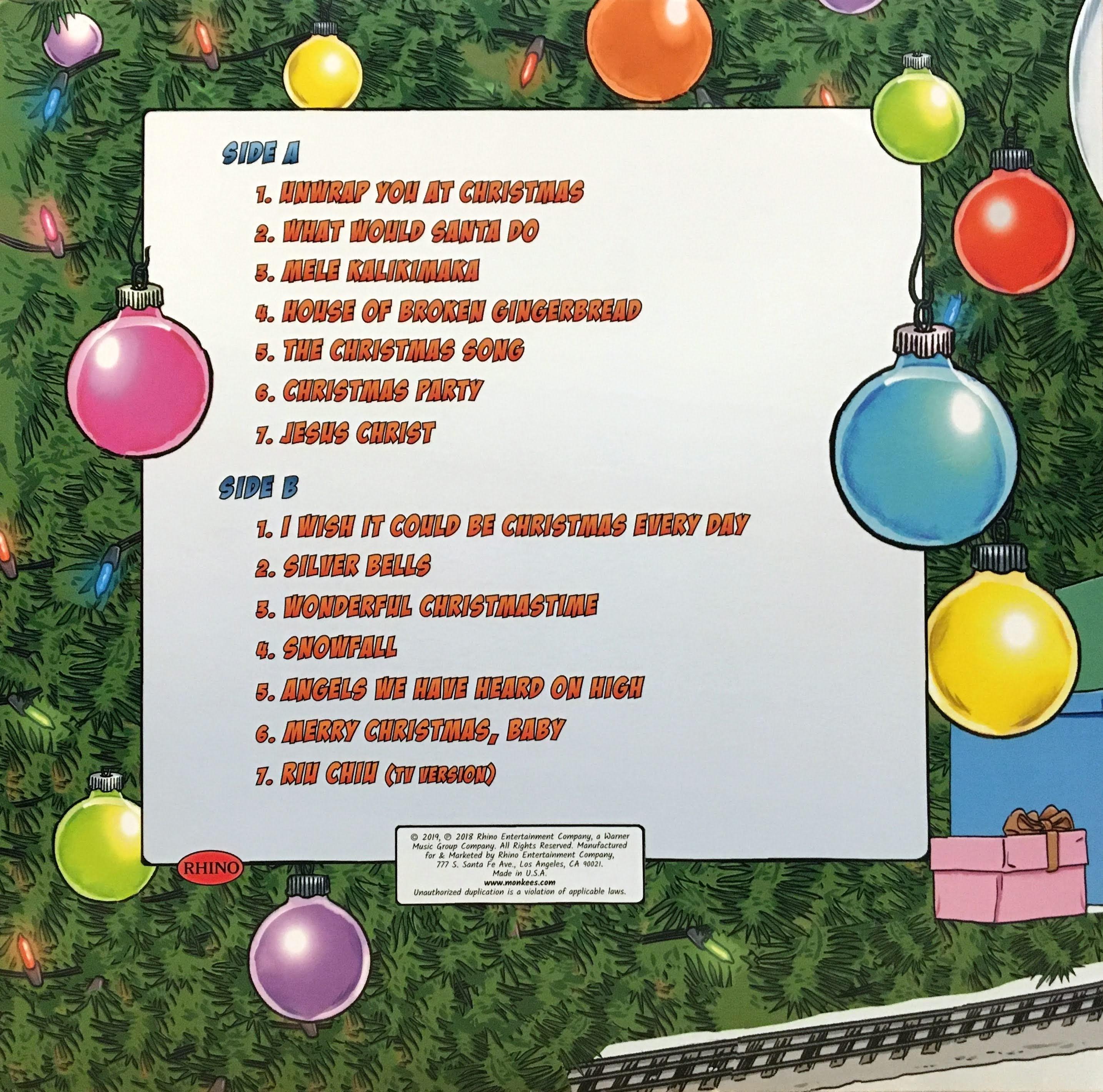 Monkees Christmas Album 2021
