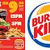 省钱好康来咯! Burger King 推出Double King 的超省钱优惠!双层汉堡套餐只需 RM 9.90 而已! 太划算了!